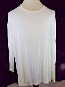 Leo Solid With Ivory New amp; Ls 2x Woman Nicole Tunic Tags Top rr4q0