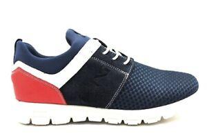 Nero-Giardini-Junior-P933560M-Blu-Sneakers-Basse-Bambino-Scarpe-Comode-Casual