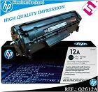 TONER NEGRO Q2612A 2612A 12A ORIGINAL IMPRESORAS HP LASERJET HEWLETT PACKARD