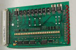 E800000730 BOARD I//O PROGRAMMING Marchesini