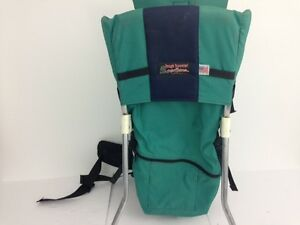 2cfa96cebc8 Image is loading Tough-Traveler-Child-Baby-Carrier-Hiking-Backpack-Green-