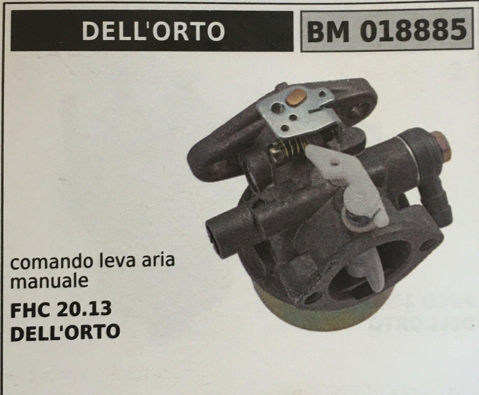 CocheBURATORE A VASCHETTA BRUMAR DELL'ORTO BM018885