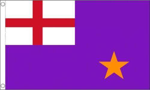 Purple Standard 5x3 Flag Northern Ireland Irish