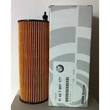 Oil Filter Diesel BMW 1,3,5,7, X1, X3, X5 & X6 (Genuine) 11427807177