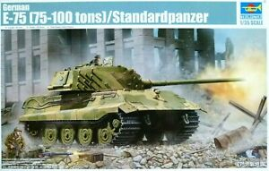 Trumpeter-1-35-E-75-75-100-tonnes-Standardpanzer-German-Tank-Model-Kit