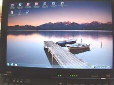 "2 ) Lenovo Think Pad "" T 61 "" +Station + Win7 + 500 GB + 4 GB + Office 2003"