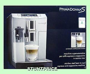 delonghi ecam primadonna s kaffeevollautomat 58 bez ge 8004399325692 ebay. Black Bedroom Furniture Sets. Home Design Ideas