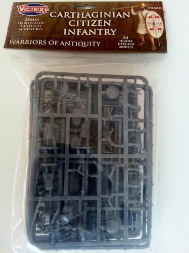 28mm Victrix Miniatures - Carthaginian Citizen Infantry (new lower price)