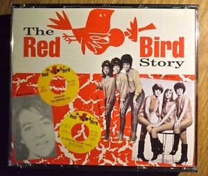Various-Artists-The-Red-Bird-Story-Charly-4-CD-set-96-original-tracks
