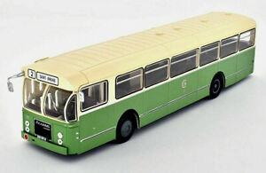Autobus-Brossel-BL55-Valenciennes-84-Francia-1966-Scala-1-43-Die-Cast-Hachette