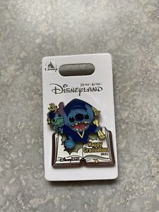 Disney HKDL Hong Kong Disneyland Lilo And Stitch Scrump Graduation Pin 2021