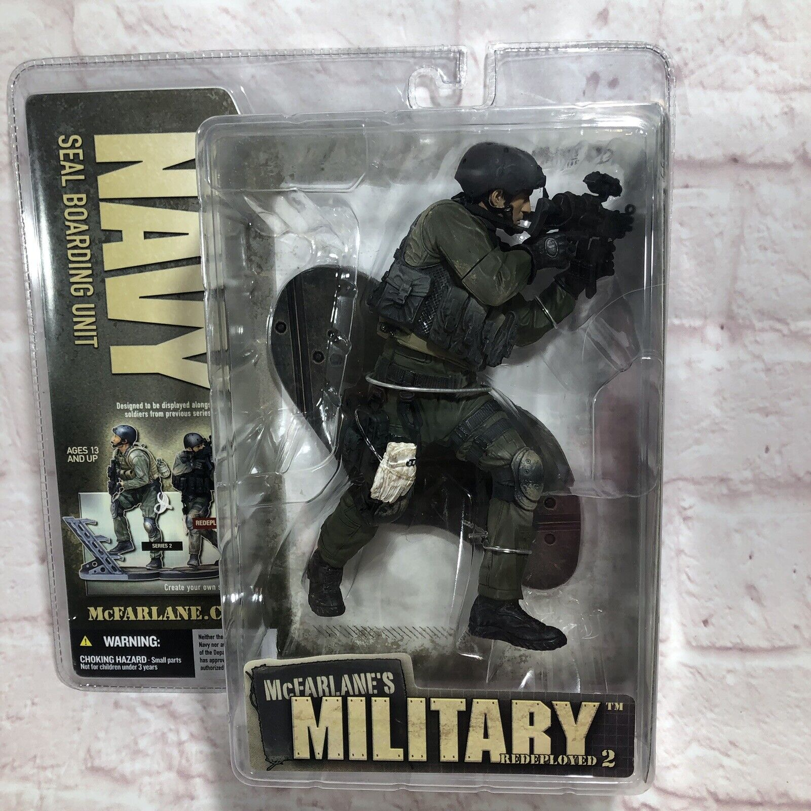 McFarlane's Military roteployed 2 Navy SEAL Boarding Unit Wirkung Figure New