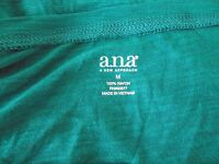 W/ Tag Ana A Approach Long Sleeve 100% Rayon Shirt Size M (retail $34)