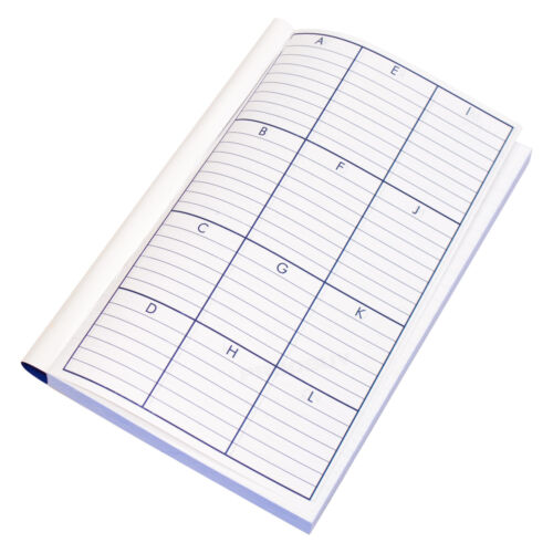 """1 x Carbonless 8x5/"""" 100 Page Duplicate Book Invoice Receipt Lined Numbered Pads"""