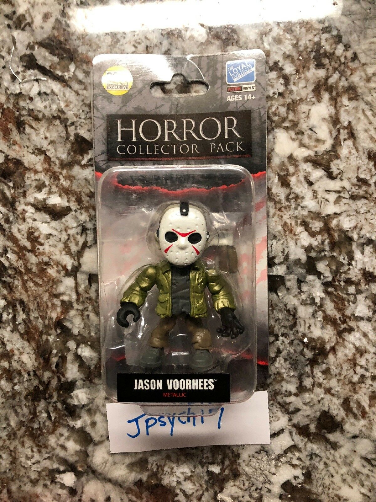 The Loyal Subjects JASON VOORHEES Metallic 2018 SDCC Friday the 13th Horror LE