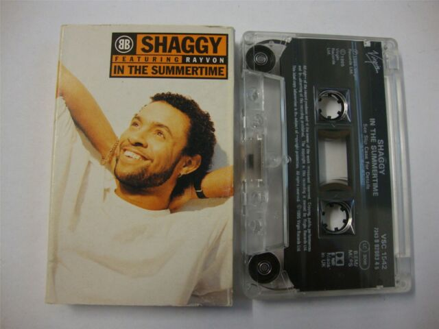 Shaggy Featuring Rayvon In The Summertime Cassette Tape Single For Sale Online Ebay