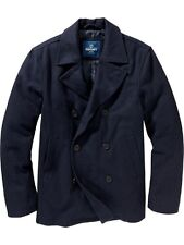 OLD NAVY MENS WINTER WARM WOOL BLEND PEACOAT PEA COAT JACKET $99.99  NEW L  XL