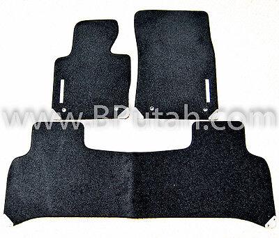Genuine OEM 2011~2012 Range Rover Supercharged Black Carpet Floor Mat Mats OEM