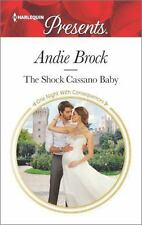 The Shock Cassano Baby (One Night With Consequences) by Brock, Andie, Good Book