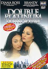 DOUBLE PLATINUM - Diana Ross, Brandy - DVD*NEU*OVP
