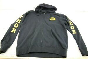 Thor-MX-Zip-Hooded-Sweatshirt-Hoody-Hoodie-Men-039-s-XL-08725