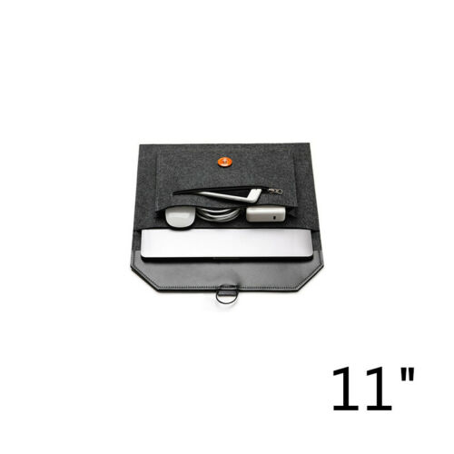 "Wool Felt Envelope Sleeve Laptop Case Bag For MacBook Air Pro Retina 11//13//15/"""