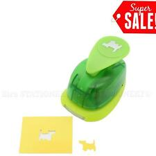 """5/8""""inch Dog 2 Shape Paper Caraft Punch Craft Supplies Puncher Scrapbooking Card"""