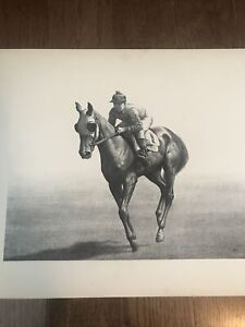 1948 CW Anderson Thoroughbred Print