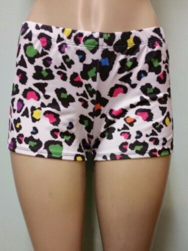 MULTI-COLOR LEOPARD SHORTS