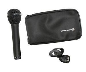Beyerdynamic-M88TG-M88-TG-Hyper-Cardioid-Dynamic-Microphone-Mic-w-Clamp-Bag