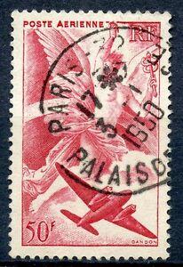 STAMP-TIMBRE-FRANCE-OBLITERE-POSTE-AERIENNE-N-17-SERIE-MYTHOLOGIQUE