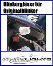 weisse Blinker Gläser Suzuki GSX R 1300 Hayabusa hinten 1997-2007