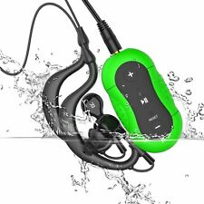 Aerb 4GB IPX-8 Waterproof Swimming Diving Sports MP3 Music Player Green