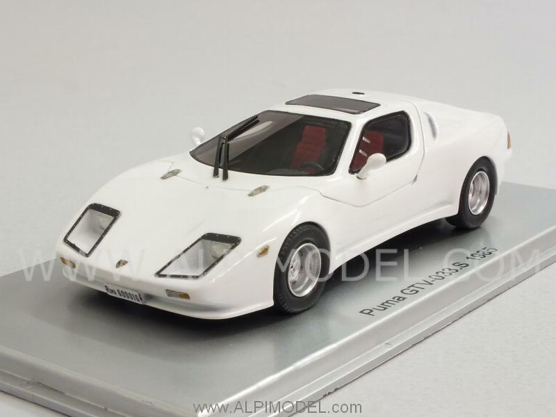 Puma GTV 033.S Alfa Romeo engine 1985 Whte 1 43 KESS KE43016001