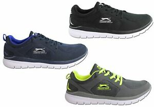 Mens-Slazenger-Bolt-Lightweight-Cushioned-Lace-Up-Sport-Shoes-ModeShoesAU