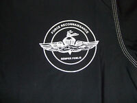 Usmc Marines Force Recon Rash Guard Rashguards Lycra Black Sizes S - 3xl