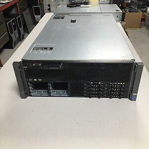 Dell-Poweredge-R910-2x-Intel-Xeon-4-core-E7520-1-86GHz-32GB-PC3-H700-16Bay