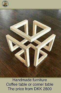 Anden arkitekt, Håndlavede møbler