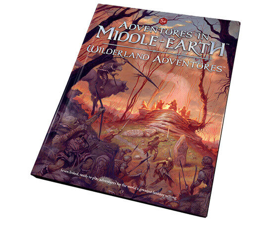 WILDERLAND ADVENTURES  - ADVENTURES IN MIDDLE EARTH  - CUBICLE SEVEN