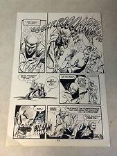 JONNY QUEST #16 pg 22 original art WEREWOLF ATTACKS, ZIN, WICKED COOL PAGE