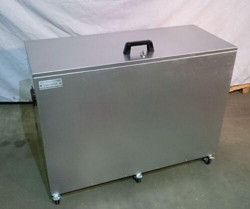 ms3c Mobile XL Single Compartment Feed Storage Bin Locking Lid /& Wheels