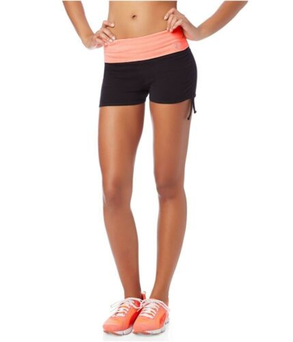 Aeropostale Womens Lld Ruched Knit Athletic Workout Shorts