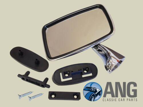 JAGUAR E-TYPE SERIES III 5.3 V12 /'71-/'75 LEFT HAND STAINLESS STEEL DOOR MIRROR