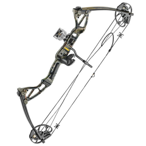 EK Archery Rex Compound Bow With Arrows Sights & More - Target Field Shooting