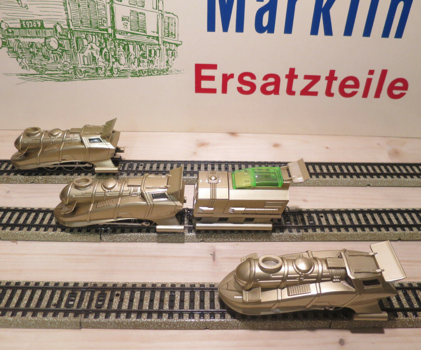 (MB) Märklin Alpha gold with & without Tender New Small Series Top Condition