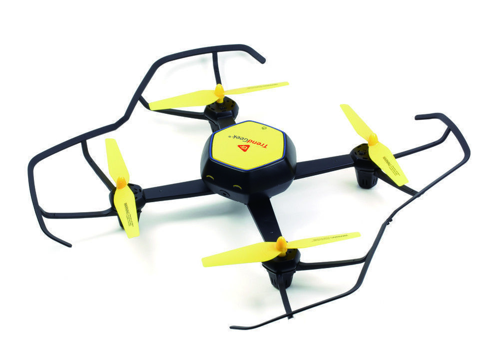 TrendGeek Drone Quadrocopter With Live Camera Video Streaming Recording FVP480P