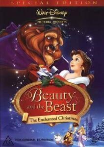Beauty-and-the-Beast-The-Enchanted-Christmas-DVD-NEW-Region-4-Australia