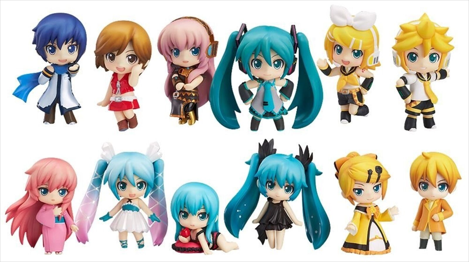 Good Smile Nendgoldid  Petit Hatsune Miku Trading Action Action Action Figure 12 pieces BOX 0049ce
