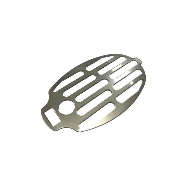 Edelstahl Ersatzsieb oval für Wasserklappe 100