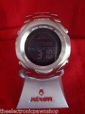"Nixon ""The Delta"" (Stainless Steel) 50M Custom Digital w/ Barometer (4F)"